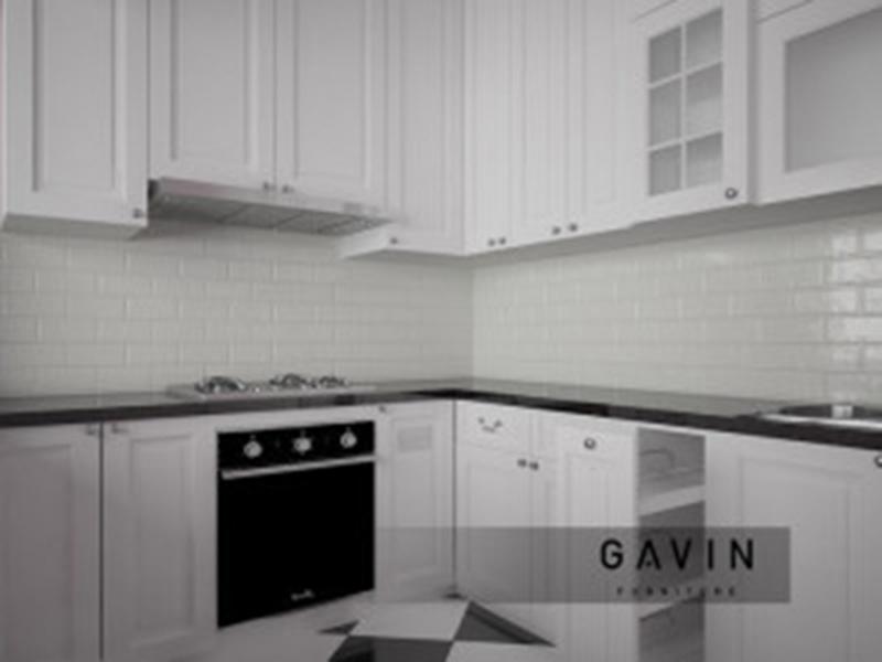 contoh lemari dapur klasik