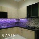 design lemari dapur full plafon