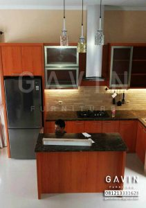 lemari dapur kitchen set minimalis