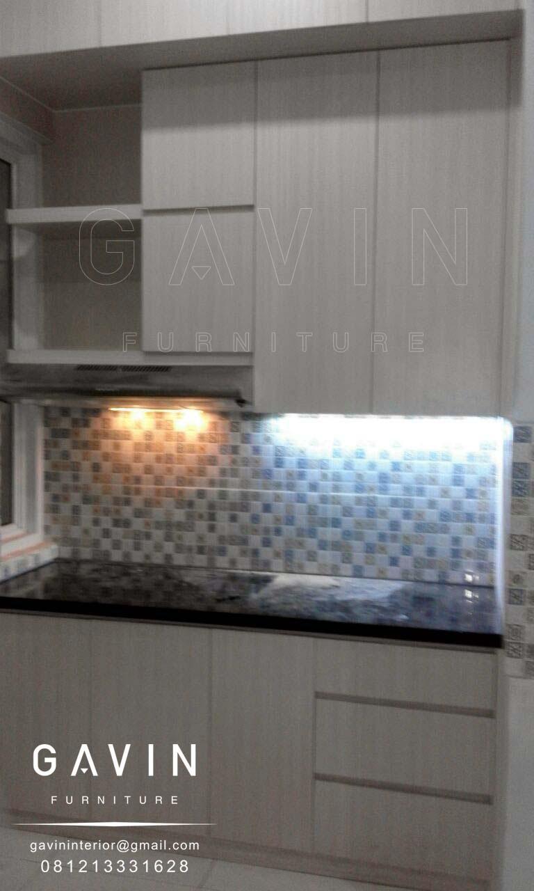lemari dapur minimalis di graha raya