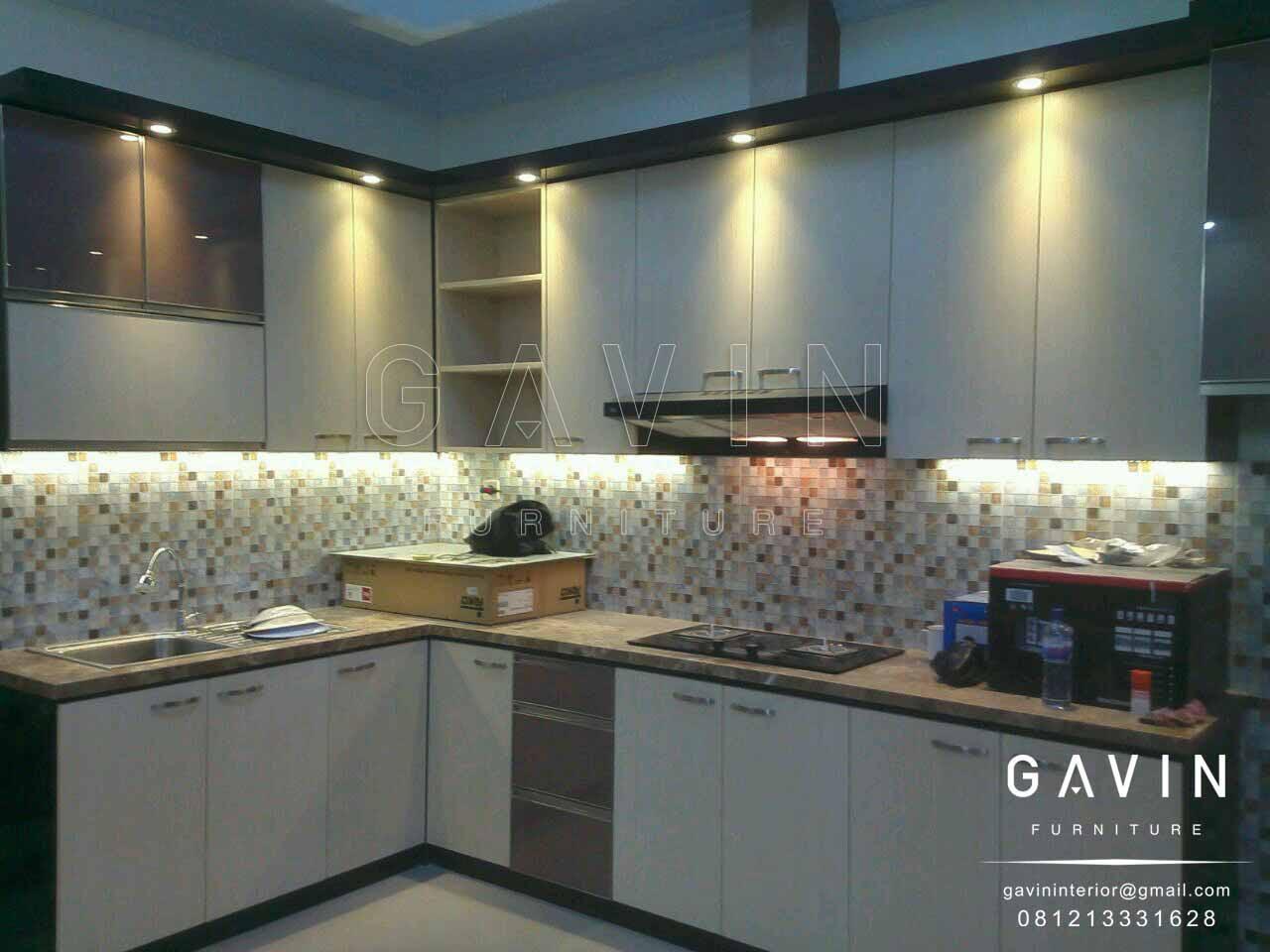 lemari dapur online model minimalis