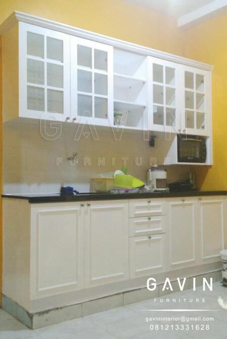 Kitchen Set Duco Putih Klasik Minimalis Lemaridapur Net