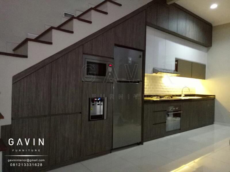 Kitchen Set Minimalis Modern Bawah Tangga Lemaridapur Net