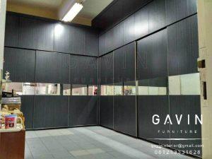 lemari pakaian sliding model minimalis