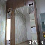 model lemari pakaian sliding cermin