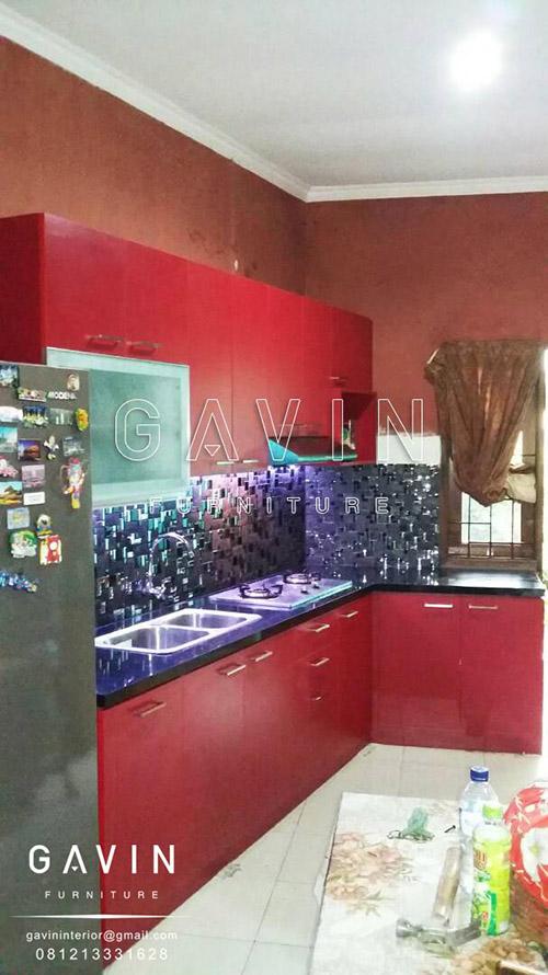 lemari dapur modern terbaru 2017