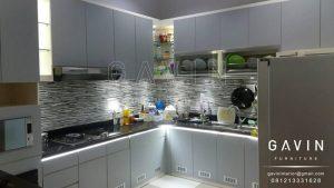 harga lemari kitchen set minimalis modern 2017
