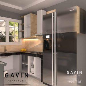 jual lemari dapur kotor design minimalis modern di Perjompongan by Gavin Q2906
