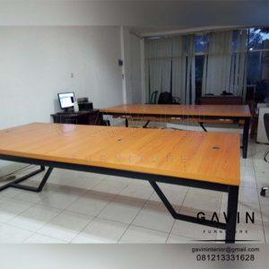 pembuatan meja kerja custom by Gavin Furniture