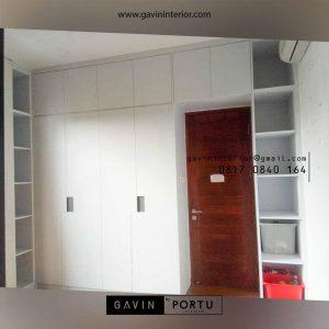 Buat Lemari Pakaian Minimalis Klien Kedaung Pamulang Tangerang id4045p