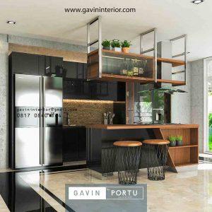 Kitchen Set HPL Minimalis Cantik dan Lengkap