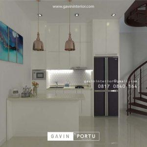 30+ Portofolio Kitchen Set Warna Putih Untuk Dapur Cantik