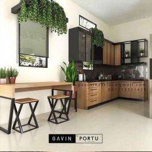 Jual Kitchen Set Custom Desain Sendiri & Harga Terjangkau ID4517PT
