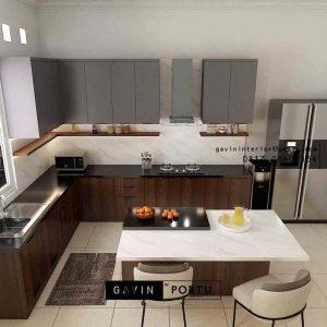 7 Design Kitchen set Paling Favorite ID5045P