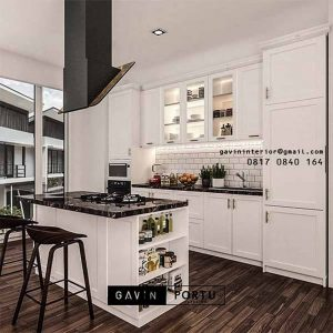 Design Kitchen Set Semi Klasik ID4931P