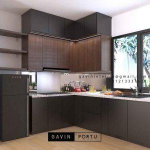 Gambar Design Kitchen Set Mininalis Modern ID4773P