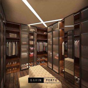 9 Desain Walk In Closet Modern & Terbaru