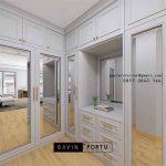 Desain Walk In Closet Modern yang Cantik dan Nyama ID4969P