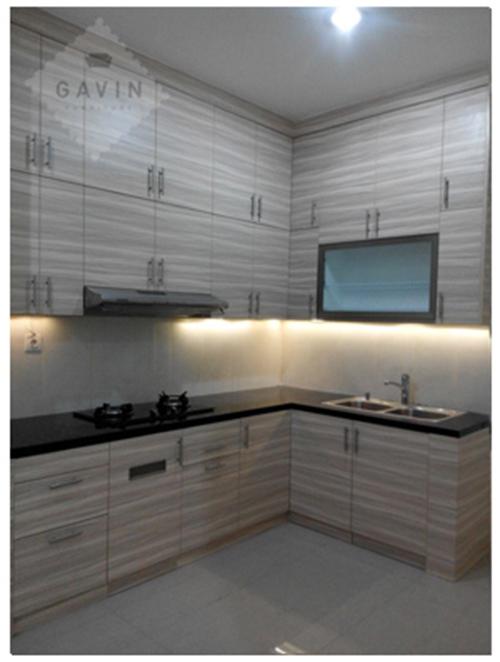 lemari dapur atas full plafon LemariDapur net