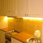 contoh kitchen set american style