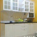 kitchen set duco putih klasik minimalis