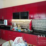 kitchen set finishing duco harga per meter murah