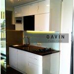 kitchen set minimalis apartement