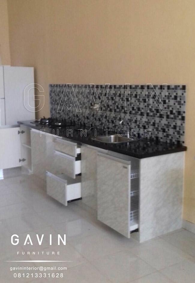 Lemari Dapur Rak Piring Kabinet Bawah Model Minimalis