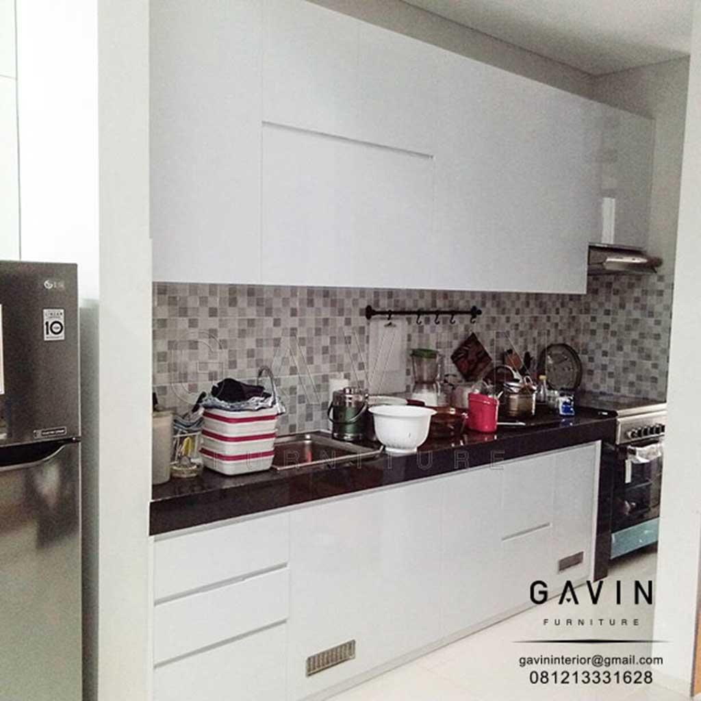 kitchen set anti rayap dan air bahan papan upvc