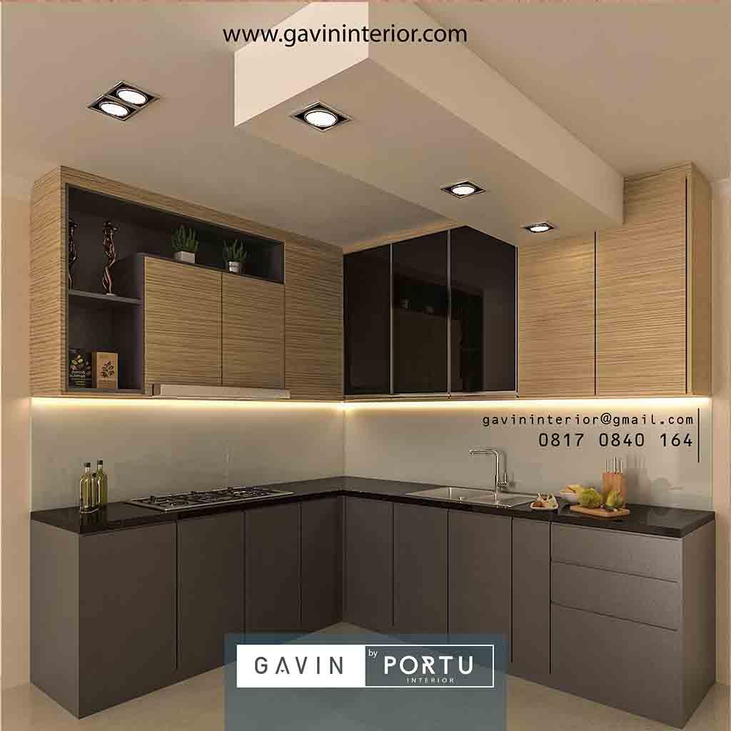 8 Gambar Kitchen Set Minimalis Modern Desain Terbaru