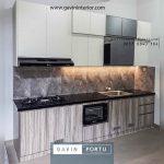 kitchen set minimalis letter i id3949